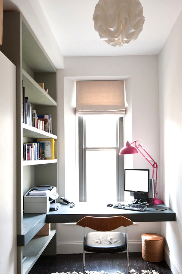 small home office apartment