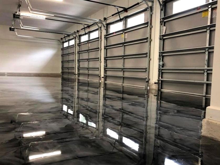 Garage Floor Ideas paint concrete