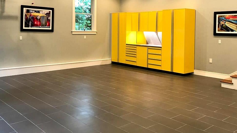 Garage Floor Ideas rubber