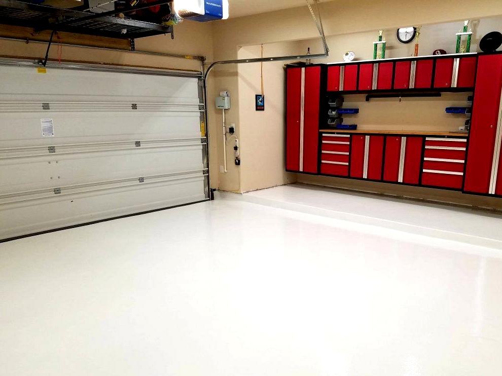 garage floor paint lowes