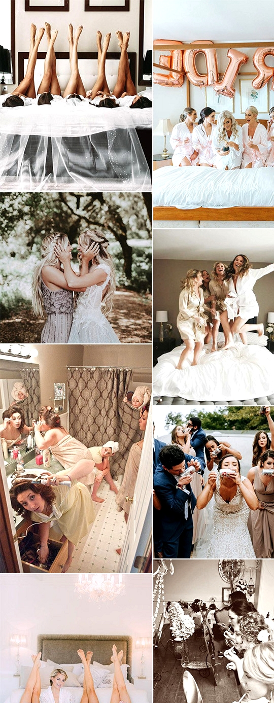 wedding photo must have ideas with your bridesmaids