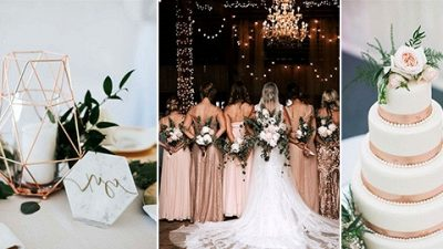 18 Attractive Rose Gold Wedding ceremony Concepts for 2020