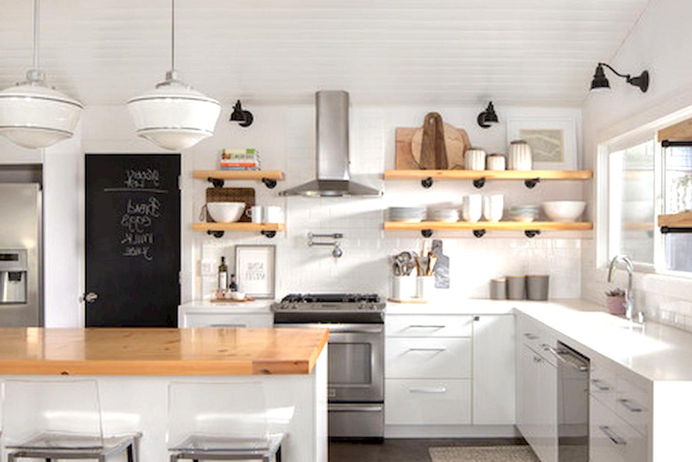 modern farmhouse kitchen cabinet colors