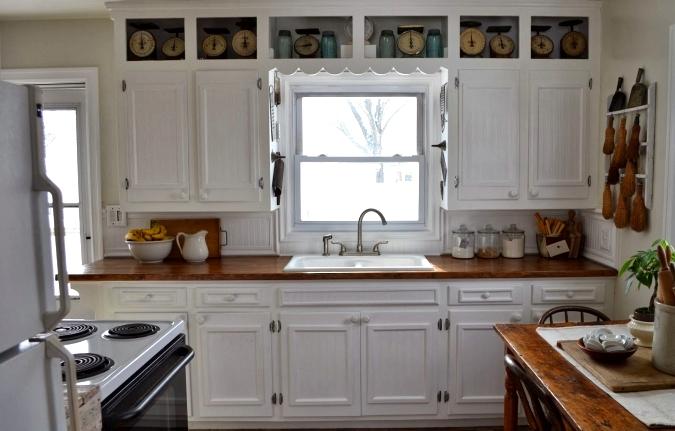 farmhouse kitchen cabinet colors