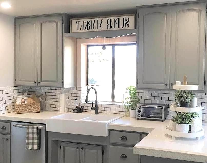 antique farmhouse kitchen cabinet
