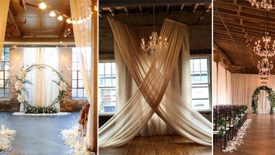 20 Timeless Indoor Wedding ceremony Ceremony Ornament Concepts