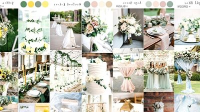 Prime 10 Wedding ceremony Shade Concepts for Spring/Summer season 2020