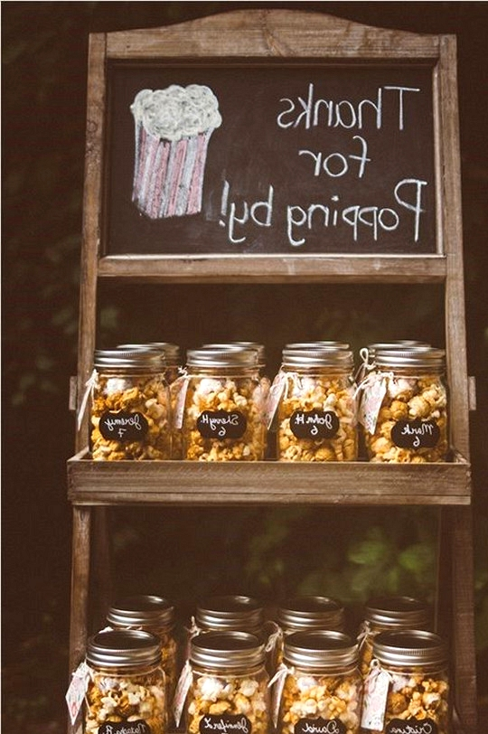 DIY wedding favor ideas