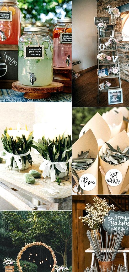 chic vintage DIY wedding ideas on a budget