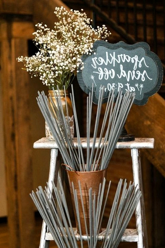 budget friendly sparklers wedding send off ideas
