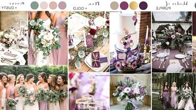 Prime 5 Shades of Purple Wedding ceremony Shade Concepts