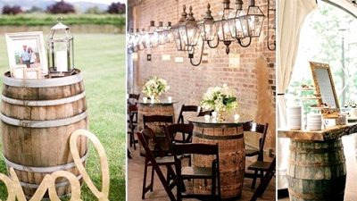 Country Wedding ceremony Concepts-26 Nice Methods to Use Wine Barrels