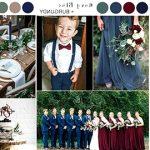 navy blue wedding colors