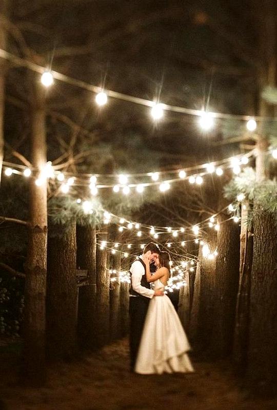 incredible wedding photo ideas at night