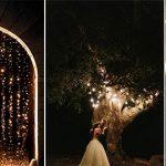 night wedding photos