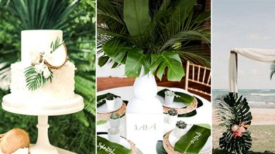 Trending-28 Tropical Themed Wedding ceremony Concepts for 2020