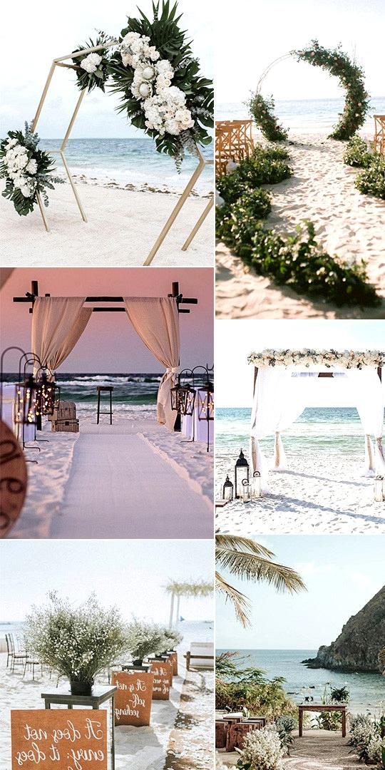 trending beach wedding ceremony ideas for 2020