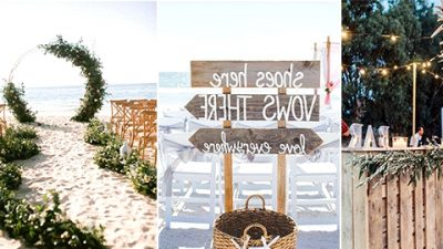 25 Beautiful Seaside Wedding ceremony Concepts You'll be able to't Miss for 2020