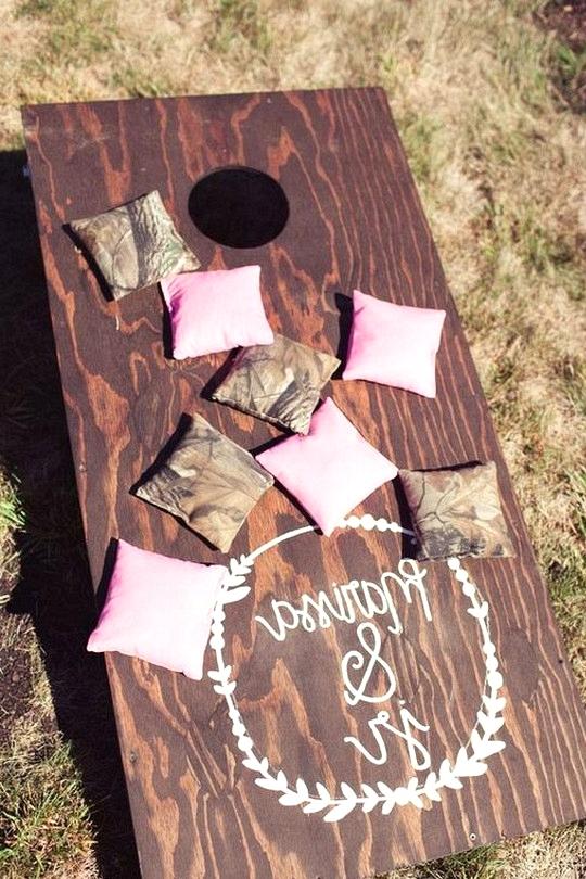 outdoor country wedding game ideas
