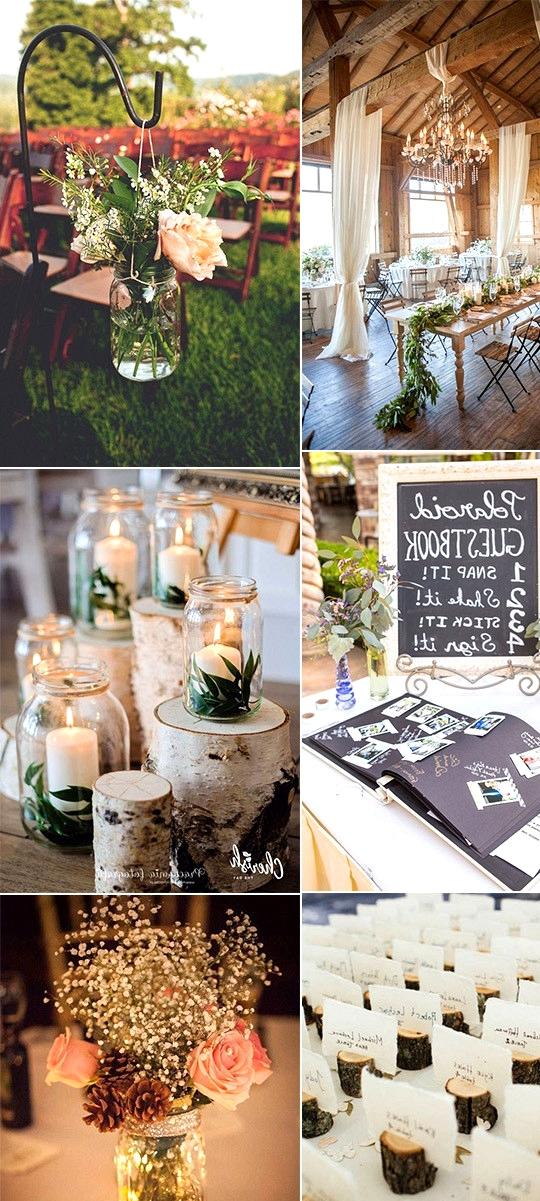 budget friendly country rustic wedding ideas