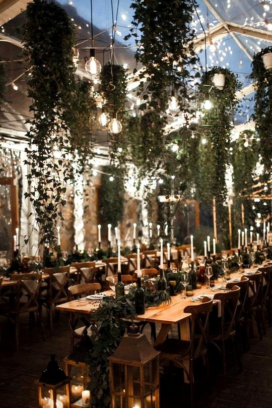 boho garden themed wedding reception ideas