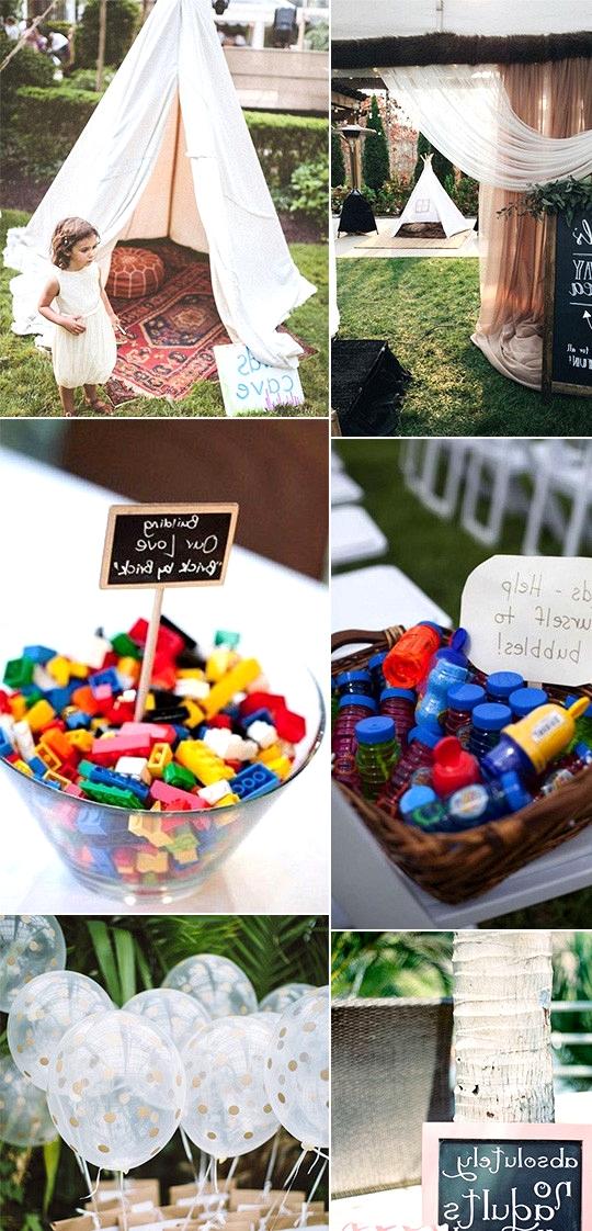 keep kids entertained wedding ideas