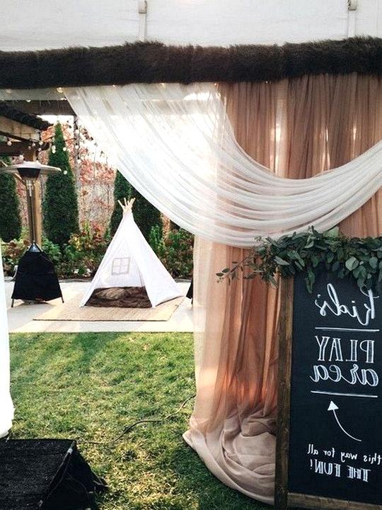 kids area to keep them entertained wedding ideas