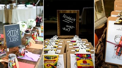 15 Nice Methods to Maintain Youngsters Entertained at Your Wedding ceremony