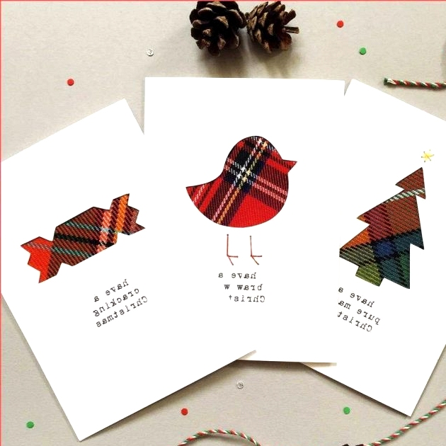 Double Layer Christmas Card ideas