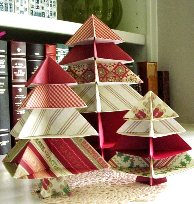 Paper Christmas Table Ornament