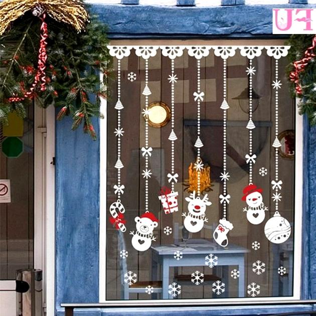 Christmas Decorating Ideas On The Window