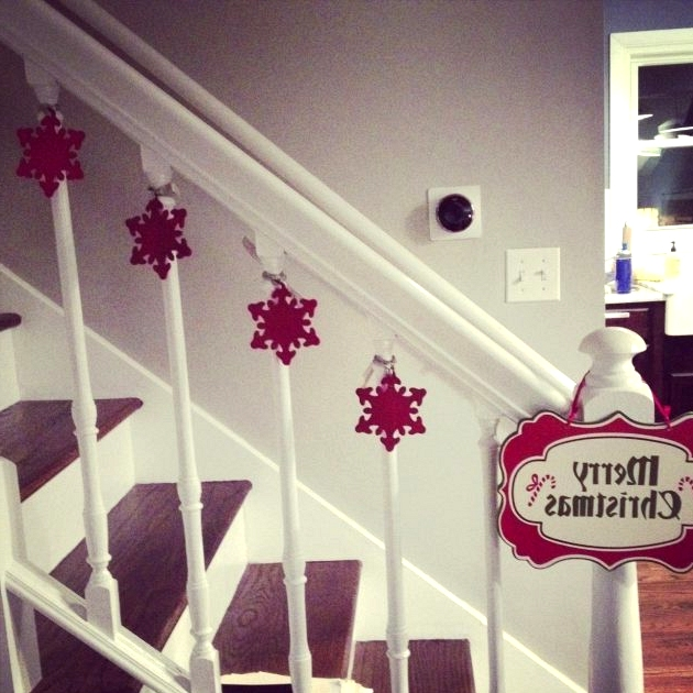 Christmas Decorating Ideas Over The Stair