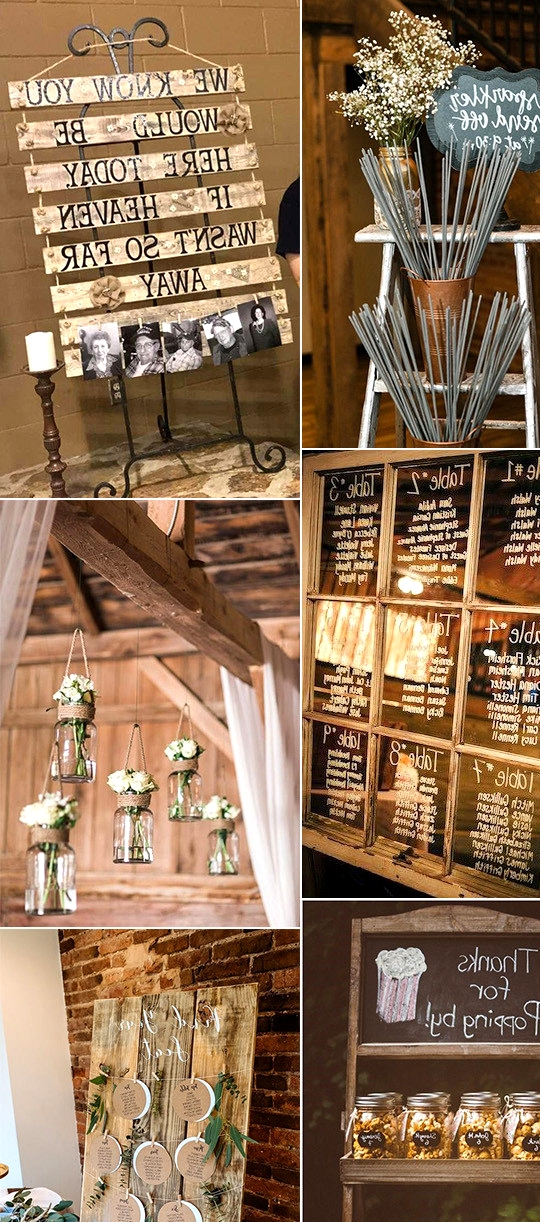 rustic DIY wedding ideas on a budget