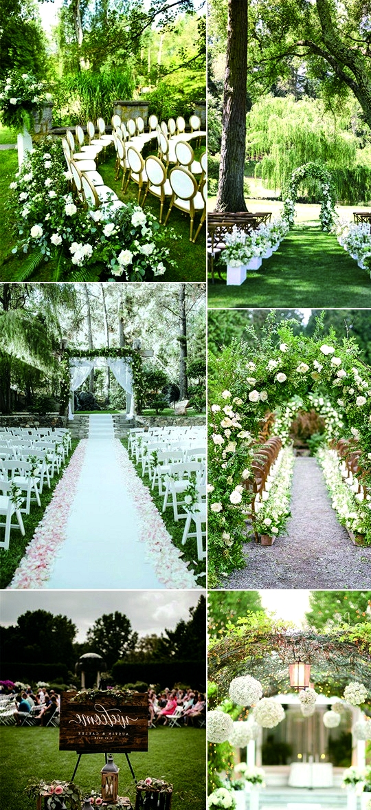 garden wedding ceremony decoration ideas for 2020