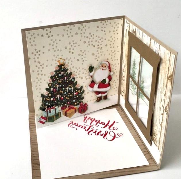 4D Christmas Card Ideas