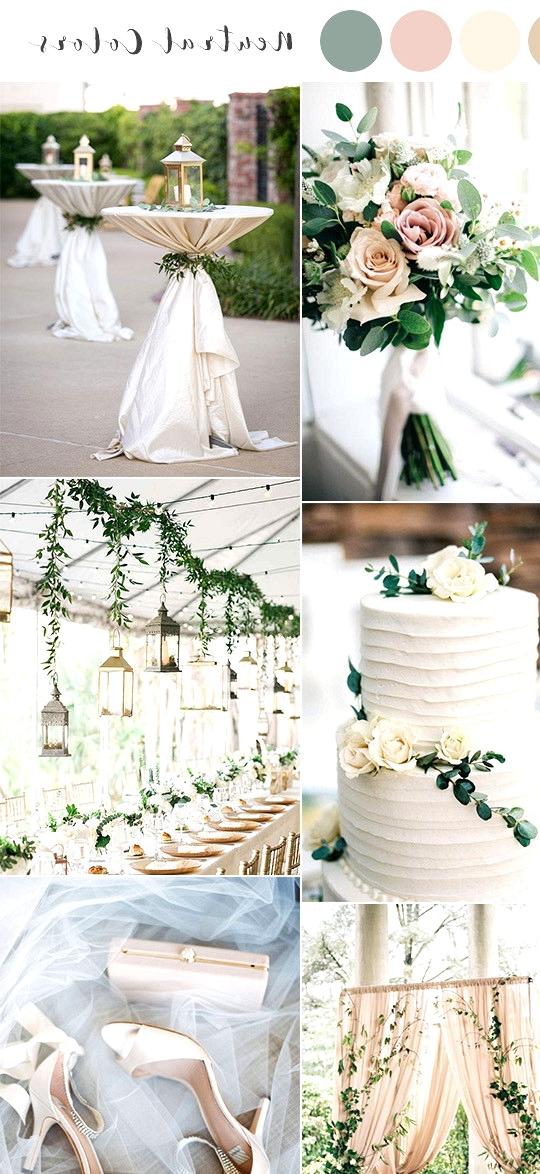 neutral colors spring summer wedding color ideas 2020