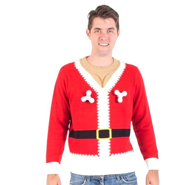 Santa Christmas Sweater For Him