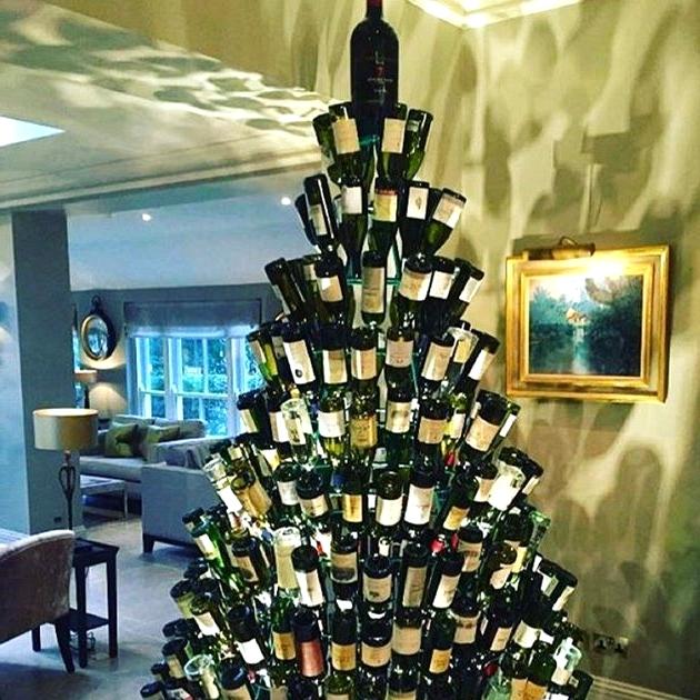 Wine And Dine Christmas Tree Ideas