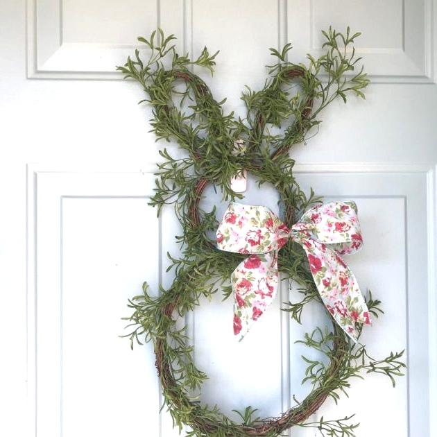 Bunny Wreath Ideas
