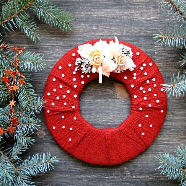 Circular Christmas Wreath Ideas