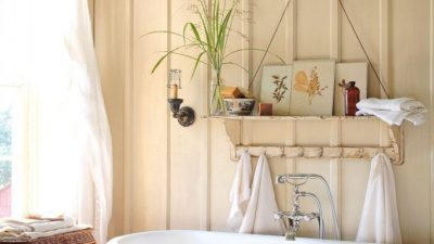 Rustic Rest room Concepts for a Heat and Enjoyable Non-public House