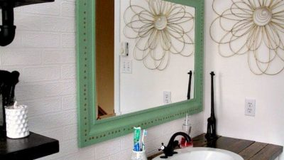 Magnificence on a Price range: 6 Stylish and Low-cost DIY Rest room Vainness Plans