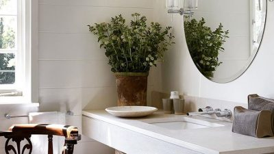6 White Lavatory Concepts for a Peaceable Vibe