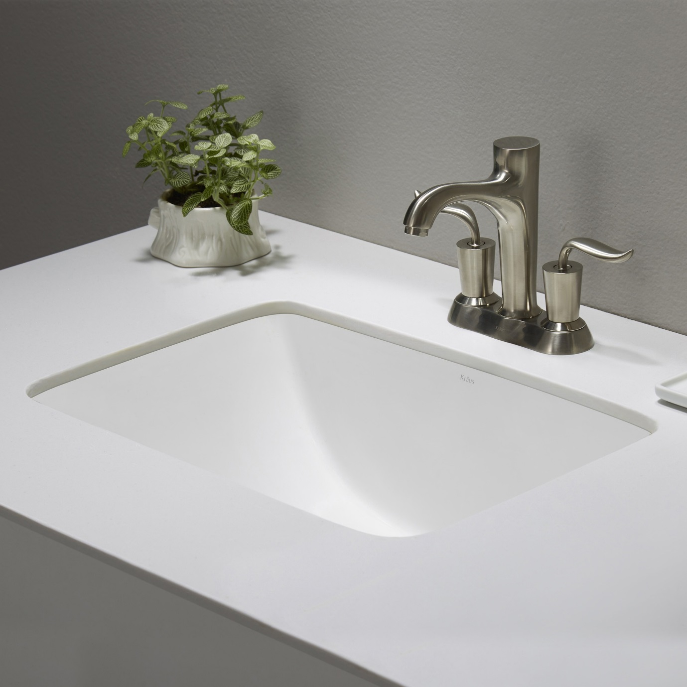 Under-mounted Sink for That Smooth Look