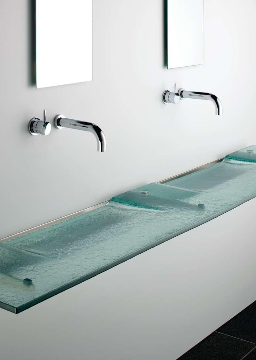 Washplane Sink for a Sleek Hotel Feel