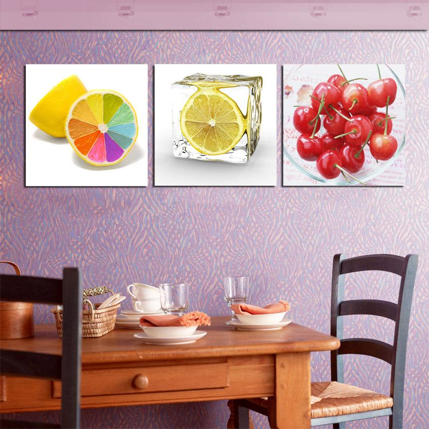 Artsy Kitchen Decor with Paintings