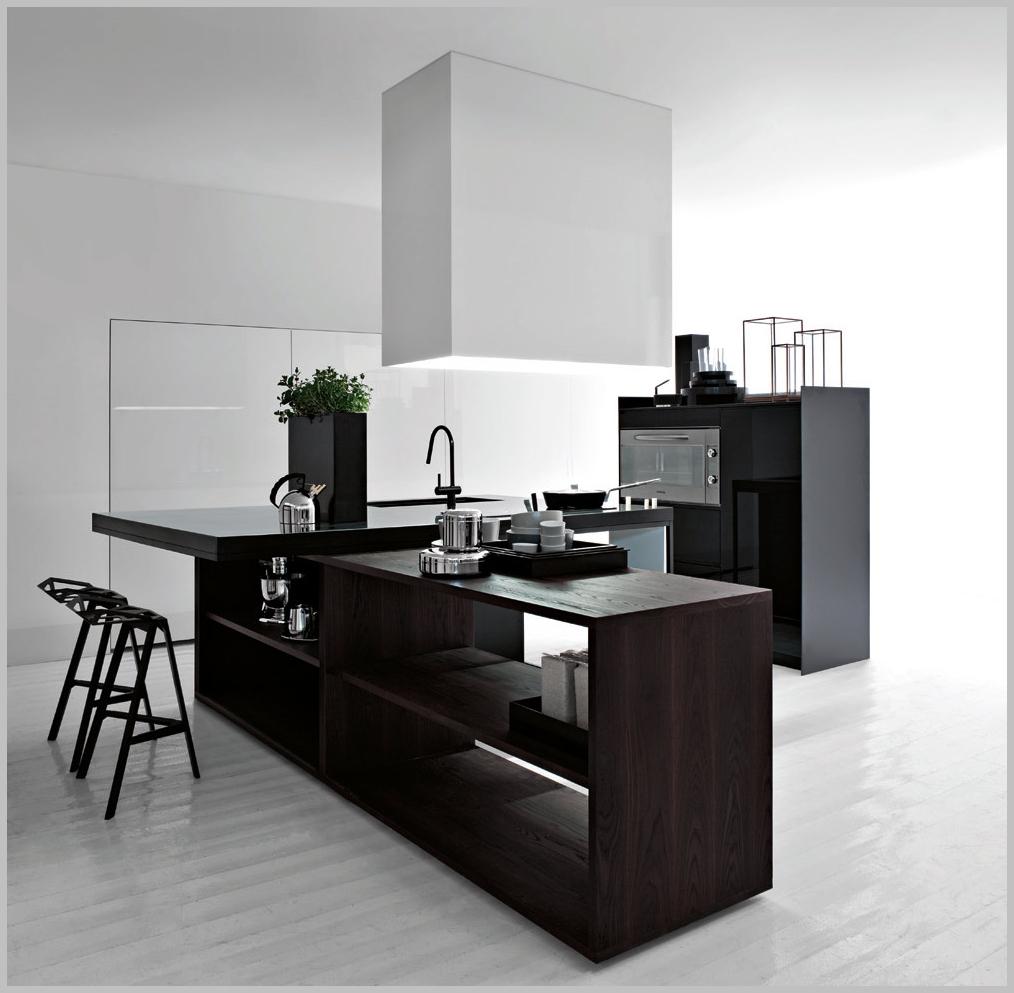Modern -Minimalist Kitchen Island