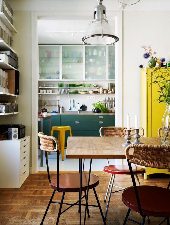 Kitchen of Parisian