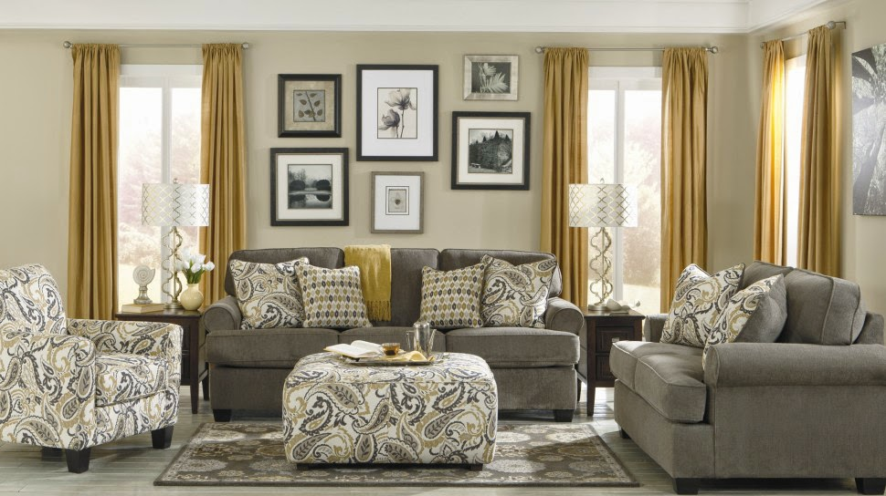 Fabric Ornaments For Luxury Living Room
