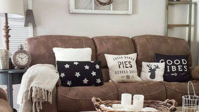 Rustic front room concepts to make your home look cozier